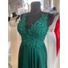 Kép 3/3 - Mona zöld maxiruha