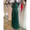 Kép 1/3 - Mona zöld maxiruha