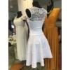 Kép 2/2 - Ízisz fehér ruha