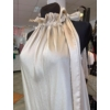 Kép 2/2 - Champagne szatén ruha