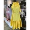 Kép 2/4 - Yellow szatén ruha