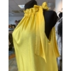 Kép 3/4 - Yellow szatén ruha