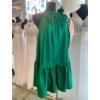 Kép 1/2 - Green szatén ruha