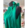 Kép 2/2 - Green szatén ruha