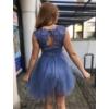 Kép 2/3 - Nerina kék ruha