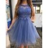 Kép 3/3 - Nerina kék ruha