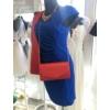 Kép 3/3 - Kék húzott ruha