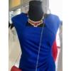 Kép 2/3 - Kék húzott ruha