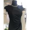 Kép 2/2 - Fekete húzott ruha