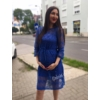Kép 1/3 - Mabel kék ruha
