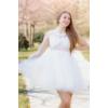 Kép 4/4 - Neri fehér ruha