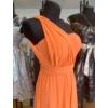 Kép 3/3 - Jenna narancs maxi ruha