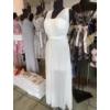 Kép 1/3 - Jenna fehér maxi ruha