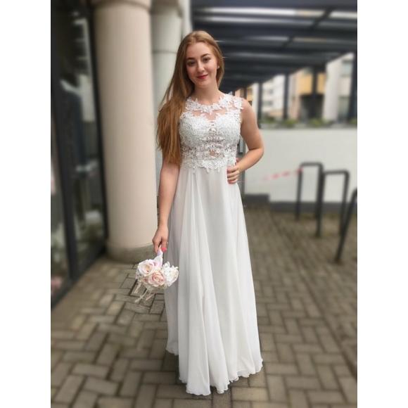 Charlotte fehér ruha