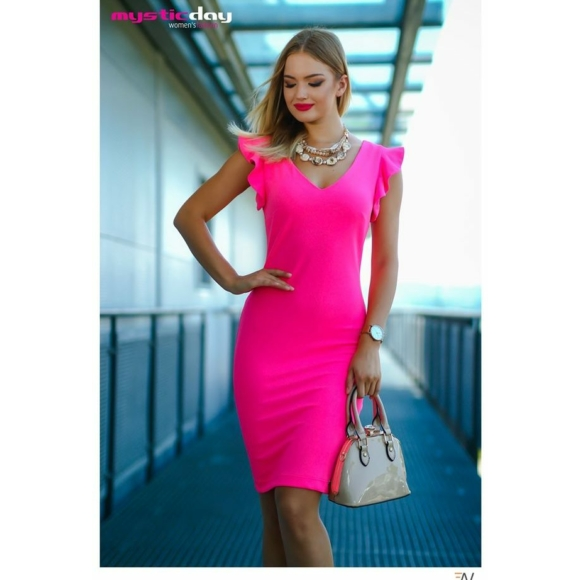 Mystic Day neon pink ruha