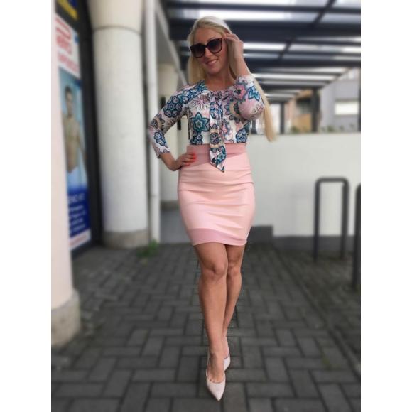 Liza rózsaszn fagyi szoknya