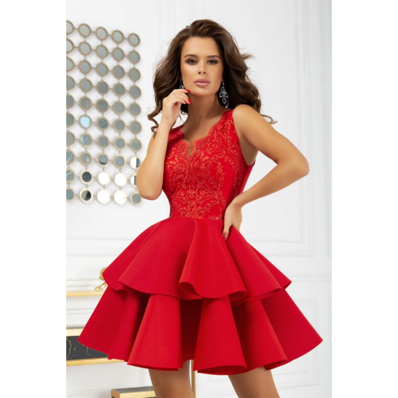 Kyra red ruha