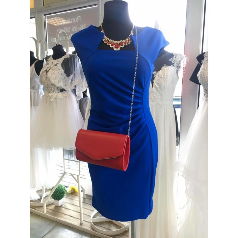 Kék húzott ruha