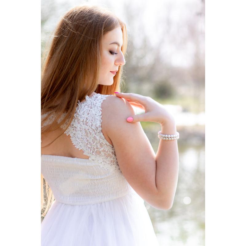 Laona fehér ruha