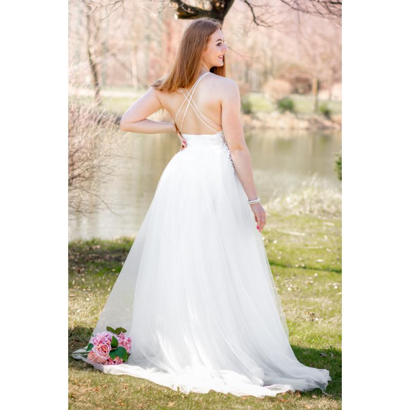 Estelle fehér ruha