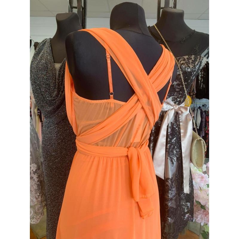 Jenna narancs maxi ruha