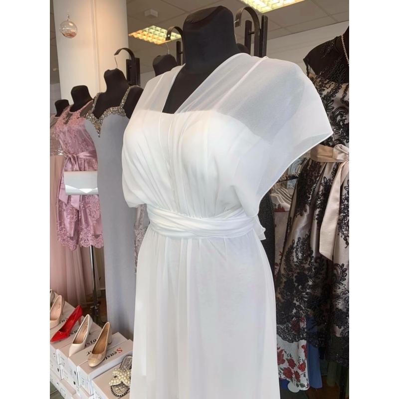 Jenna fehér maxi ruha