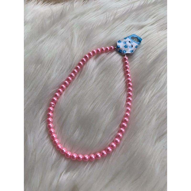 Rózsaszín gyöngysor