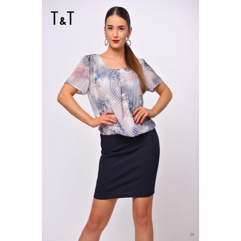 T&T világoskék Panka ruha