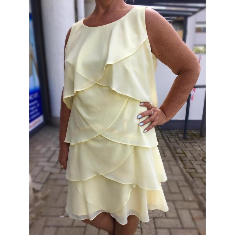 Minerva sárga ruha